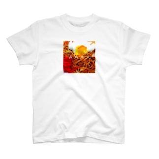 YAKISOVA BOX LOGO T-shirts