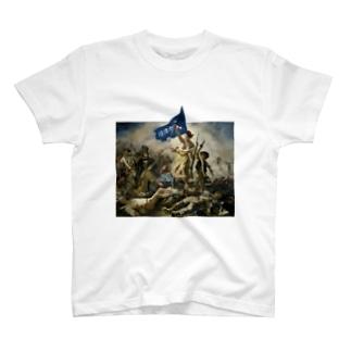 沼津市民を導く自由の女神 T-shirts