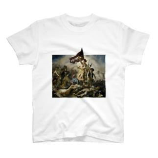 伊豆の国市民を導く自由の女神 T-shirts
