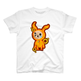 ぶたうさぎ T-shirts