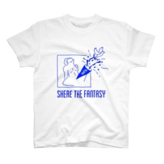 fantasticブルー T-shirts