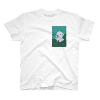 イカハッピー T-shirts