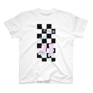 FD/50'sDINER ローラースケート T-shirts
