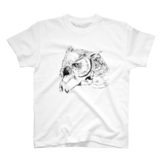ミミズクさん T-shirts