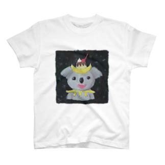三日月プリンコアラ T-shirts