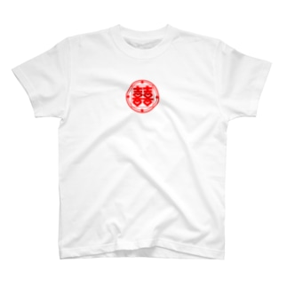 DOUBLE HAPPINESS(RED) T-shirts