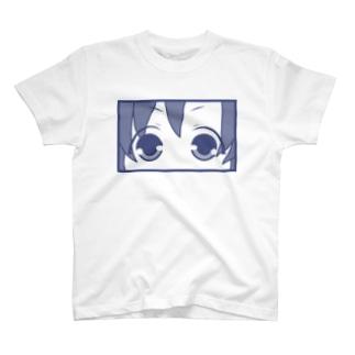 どあっぷ顔(めぢから) T-shirts