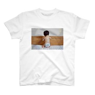 撫でたい背中 T-shirts