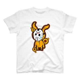 マスクぶたうさぎ T-shirts