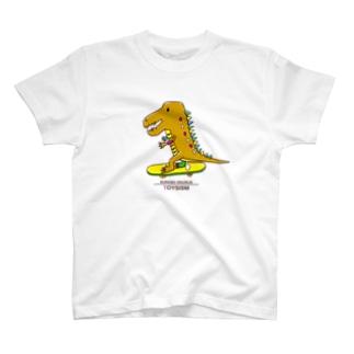 スケボーザウルス T-shirts