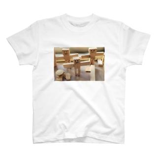 robot family T-shirts