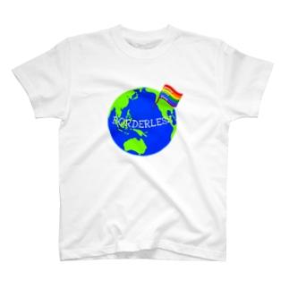 BORDERLESS T-shirts