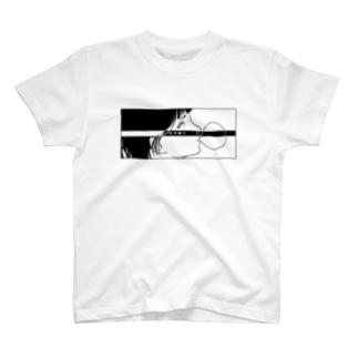 反抗少女-五月蝿イ-(black) T-shirts