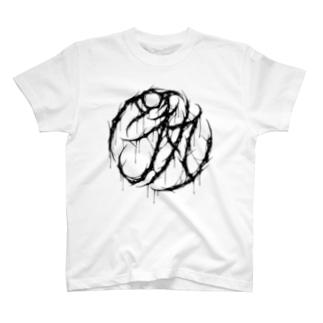 豚丸(白) T-shirts