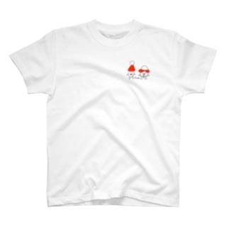 コメコメくんとコメたん T-shirts