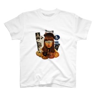 街ガール T-shirts