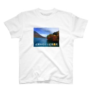 紅葉を見にい紅葉😅 T-shirts