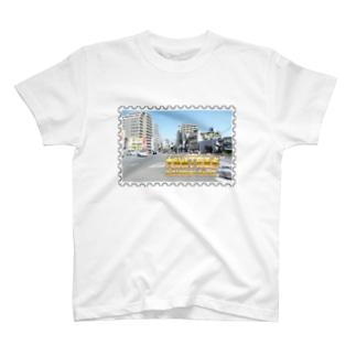東京都:大関横丁交差点★白地の製品だけご利用ください!! Tokyo: Ozekiyokocho Crossroad/ Taito-ku★Recommend for white base products only !! T-shirts
