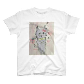 むらさきねこ T-shirts