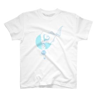 つかむ T-shirts