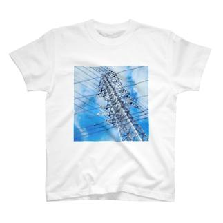 送電線 T-shirts
