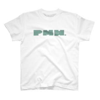 Peppermint Hedgehog ロゴ T-shirts
