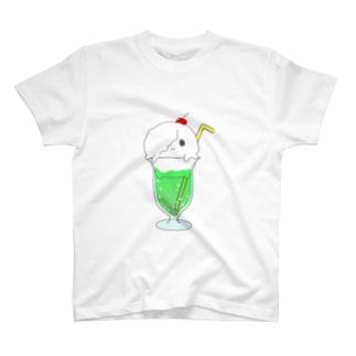 あしめふろーと(メロンあじ) T-shirts