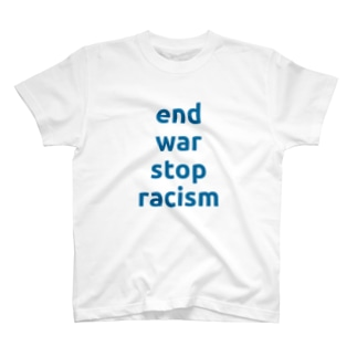 end war stop racism T-shirts
