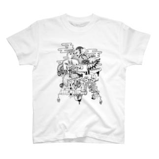 ジャパン文化 T-shirts