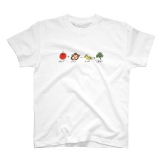 はじめてしりとり T-shirts