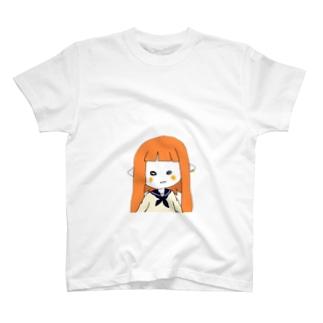 よろず屋Revengersのドヤッと とろろイカ T-shirts