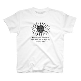 Valkyrie eye T-shirt(white) T-shirts