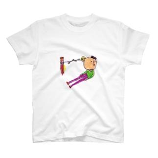 ゴロ企画のもう少しぼくに勇気があれば T-shirts