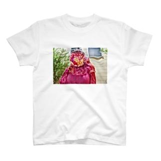 花女ちゃん T-shirts