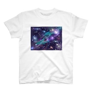 宇宙✖️イルカ T-shirts