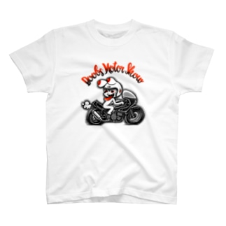 Boobs Motor Show typeD。 T-shirts