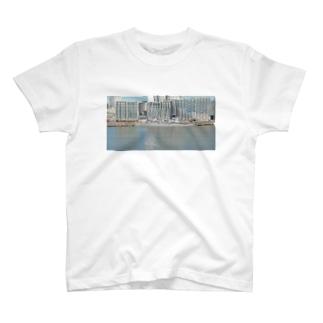 ステルス性バッチリ、護衛艦 T-shirts