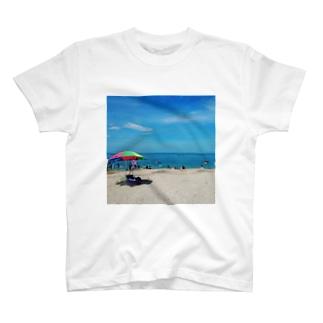 ゴシキサマービーチ T-shirts