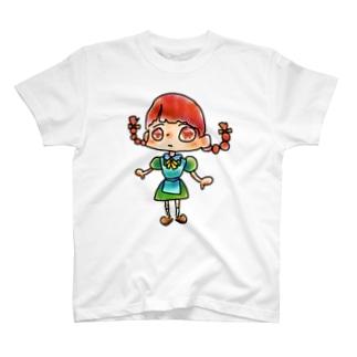 白のアン T-shirts
