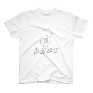 らっこちゃん (ロゴver.) T-shirts