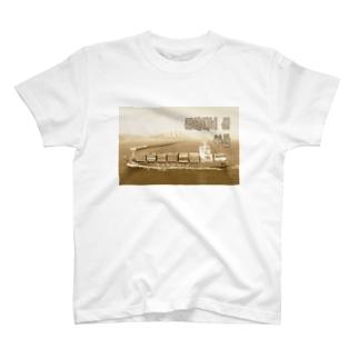 大韓民国:コンテナ船 Korea: Container ship/ Busan T-shirts