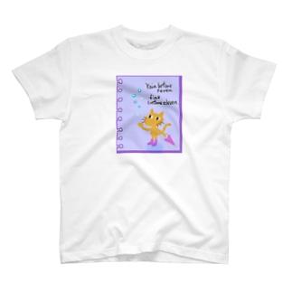 雨上がりとねこさん T-shirts