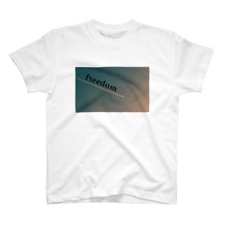 freedom Tシャツ T-shirts