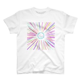 カラフルサニー スカイブルー T-shirts