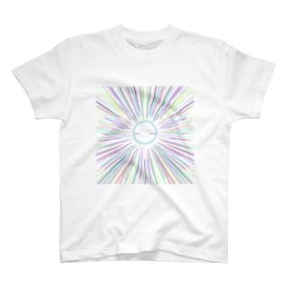 パステルサニー スカイブルー T-shirts