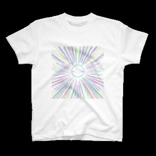 わか&なるのパステルサニー スカイブルー T-shirts