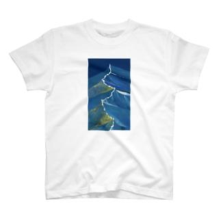 夜の波 T-shirts