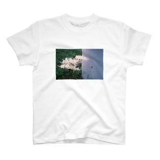曼珠沙華とグレー T-shirts