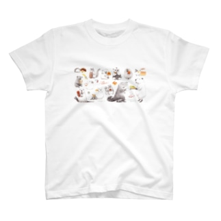 カピバラべぇかりぃとずんぐり〜ず2 T-shirts