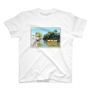 日本の城:高島城★白地の製品だけご利用ください!! Japanese castle: Takashima castle/ Suwa★Recommend for white base products only !! T-shirts